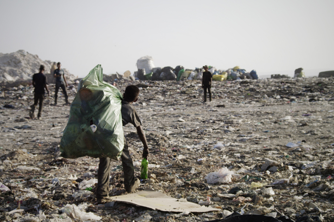 Trash dump near Tanger (Morocco)