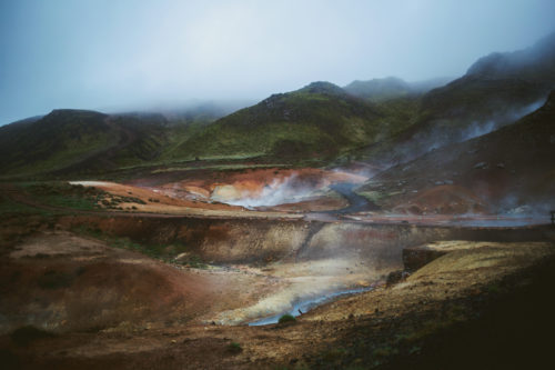 Hot Springs Iceland, Geothermal Area Iceland, Colorful hills Iceland, Island, Carolin Weinkopf